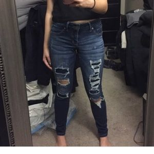 Mossimo Supply Co. Jeans - NWOT mossimo ripped jean mid waisted straight jeg